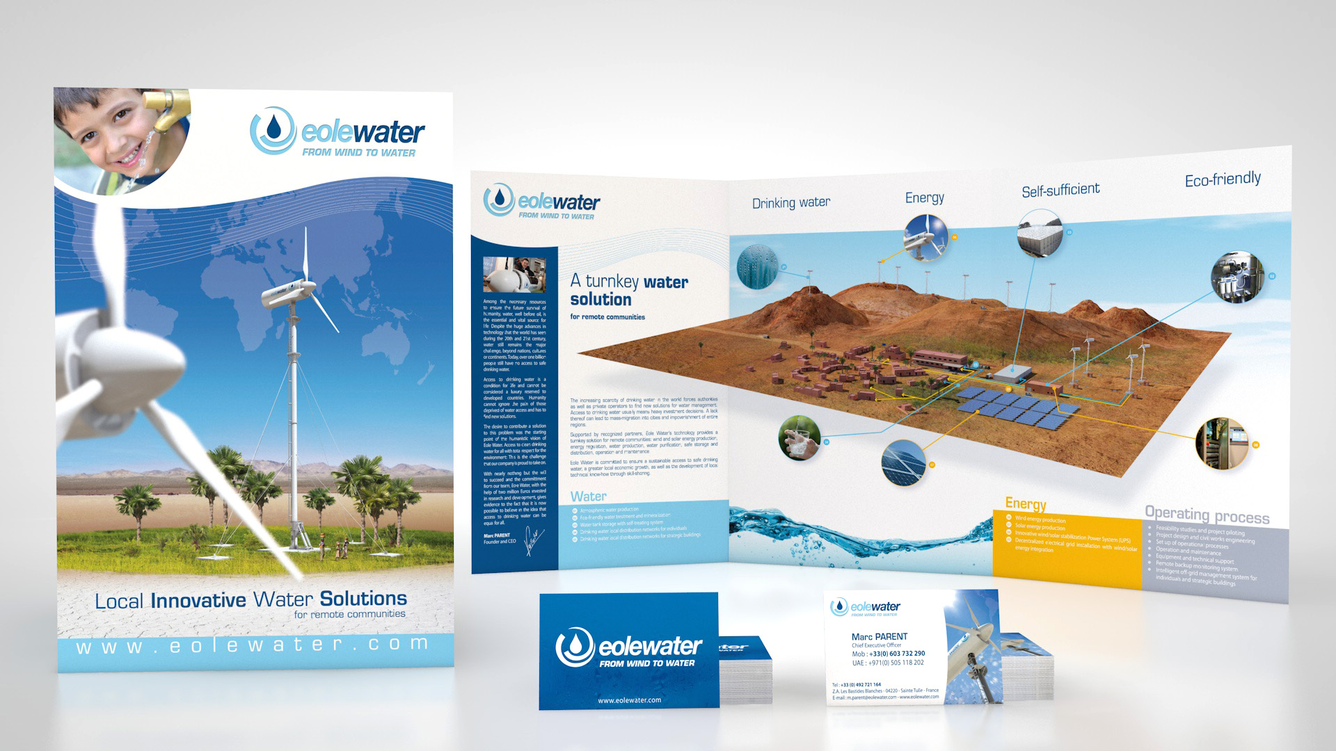 Plaquettes commerciales : Eolewater