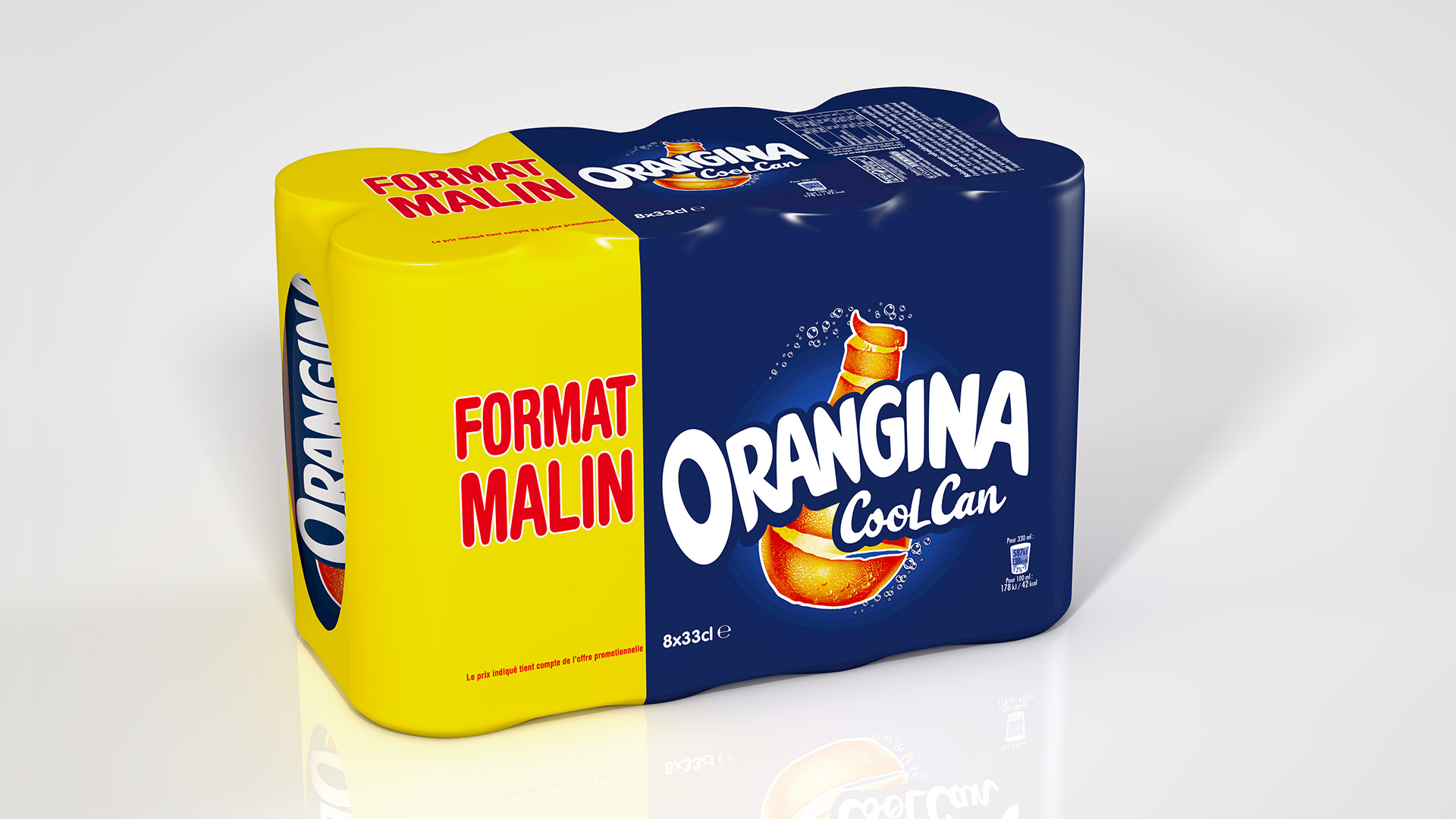 Pack 6x33cl orangina