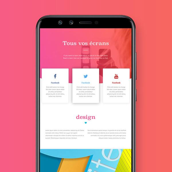 Illustration responsive design