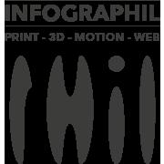 Logo infographil complet