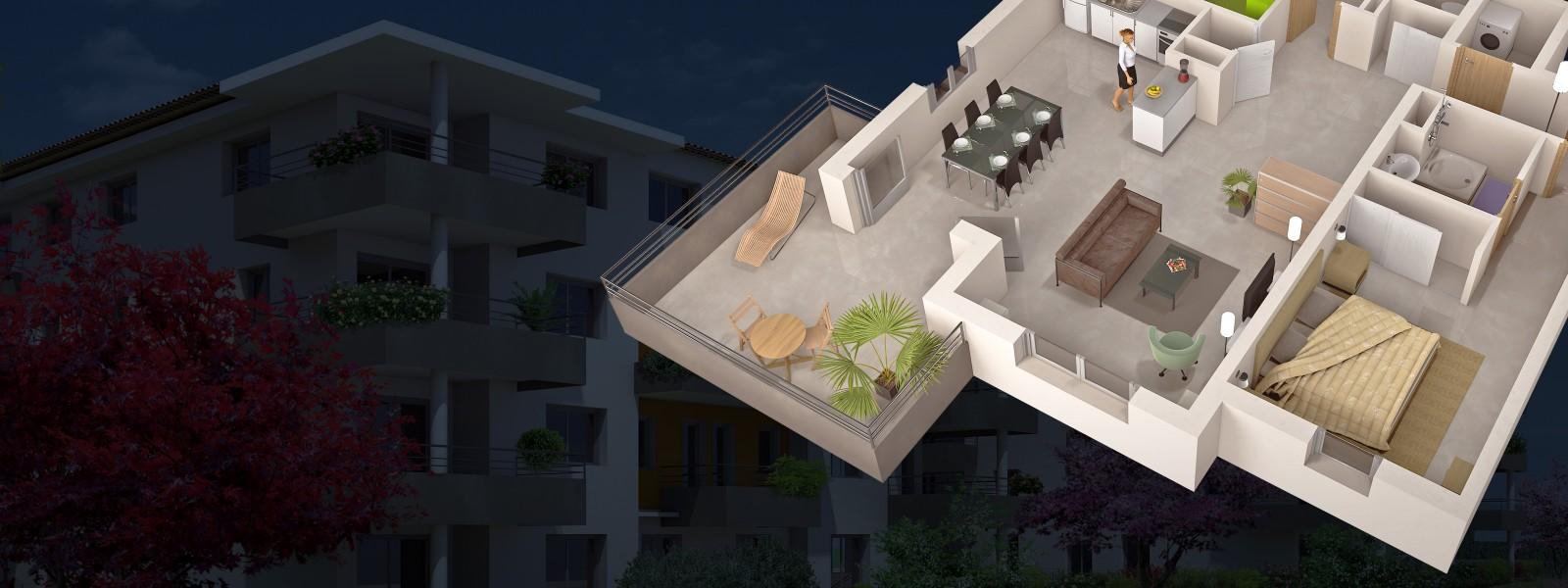 Visuel général pour la prestation architecture