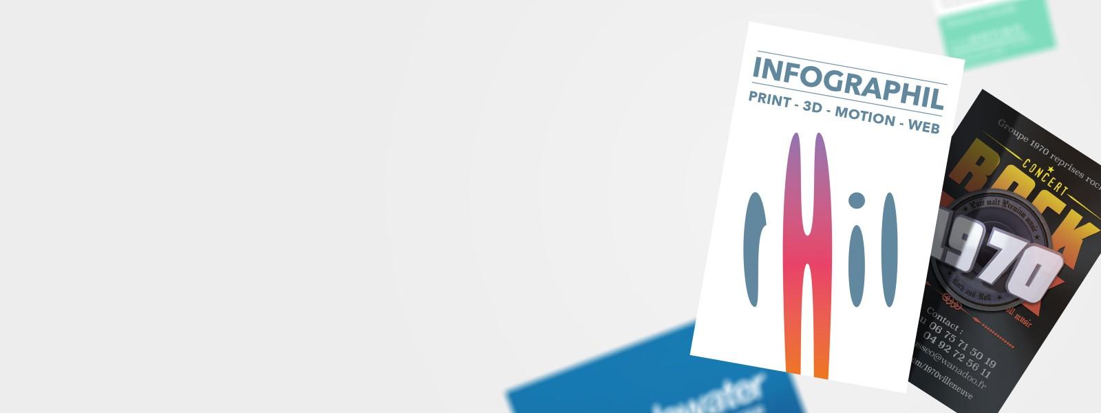 Visuel général pour la prestation print et édition